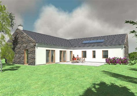Image Result For L Shaped Irish Cottage  Domy Pinterest