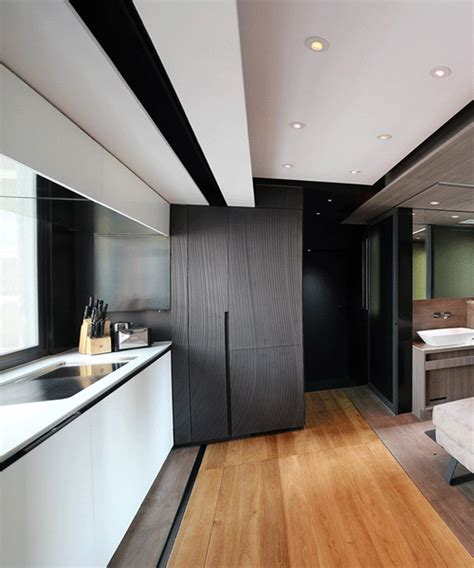 Home Design Ideas Hong Kong by Hong Kong Micro Apartment By Laab Architects