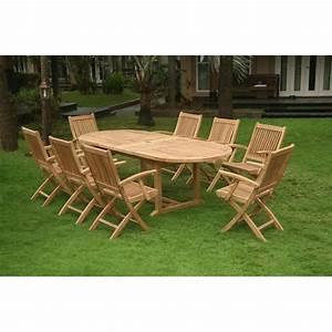 Table Jardin Teck : location de table de jardin en bois exotique ~ Teatrodelosmanantiales.com Idées de Décoration