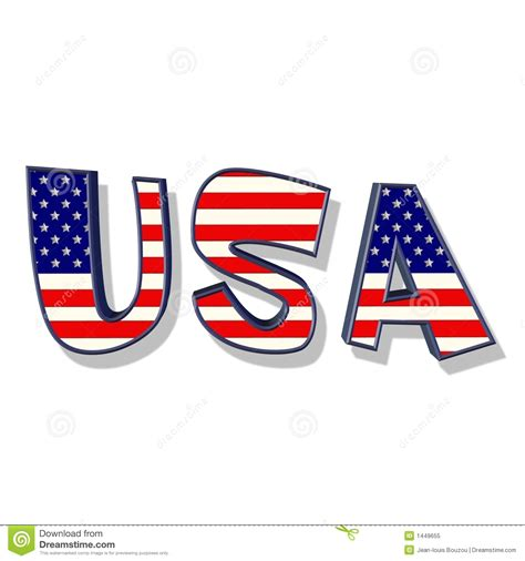 Letter Usa by Clip Time Travel Blue Clipart