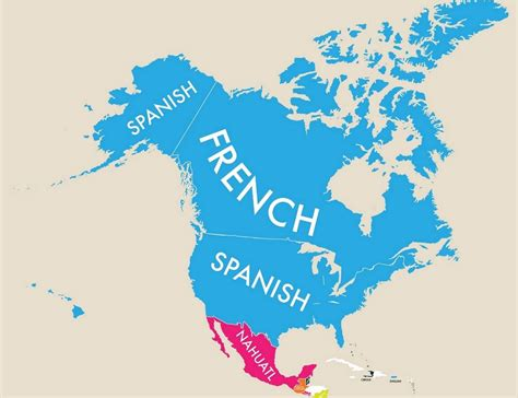 A Map Of The World According To Second Languages Indy100
