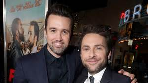 Apple Orders Charlie Day, Rob McElhenney Comedy Straight ...