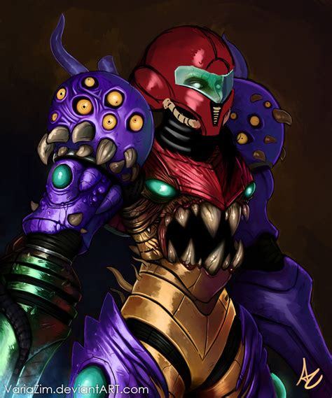 Sa X From Metroid Fusion Heavily Redesigned By Me