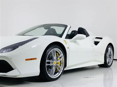 It is available in 10 colors, 1 variants, 1 engine, and 1 transmissions option: 2017 Ferrari 488 Spider Hardtop Convertible Convertible in Scottsdale #3202   Luxury Auto Collection