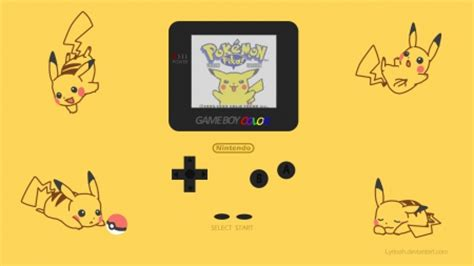 pokemon yellow gameboy color handheld devices video