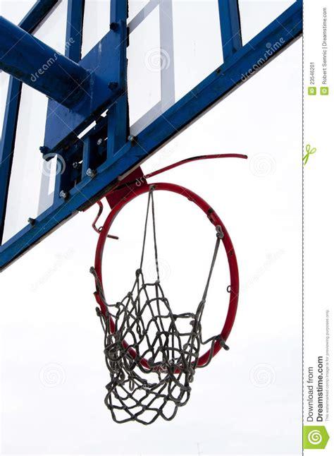 broken basketball ring stock image image