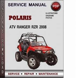 Service Manual Polaris Atv Ranger Rzr 170 2009 Factory