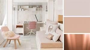 Deco Couleur Cuivre : quelles couleurs pour une chambre d 39 ado fille ~ Teatrodelosmanantiales.com Idées de Décoration