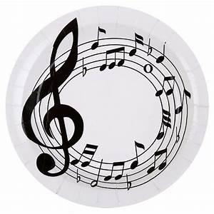 Deko Bilder Schwarz Weiss : pappteller musik 10 st ck musik party musik fest mit notenschl ssel und noten ebay ~ Bigdaddyawards.com Haus und Dekorationen
