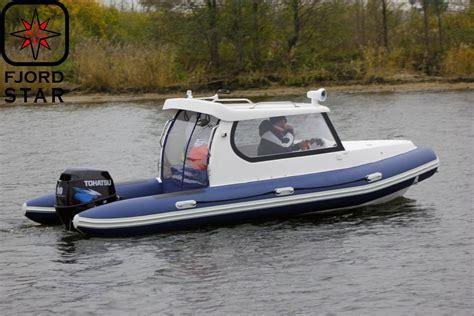 Rib Boat Cabin fjordstar rib boats boats catalog fjordstar boats