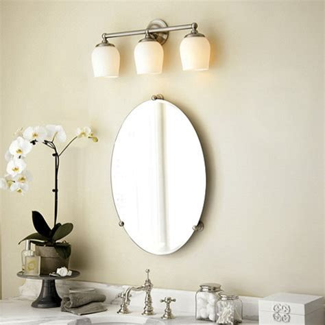 Oval Vanity Mirrors For Bathroom by Large Frameless Mirrors For Bathrooms Jeff Lewis Design