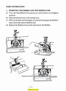 Deluxe Fa660 Sewing Machine Instruction Manual