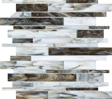 glass backsplash tile menards ambiance random glass mosaic wall tile at menards 174