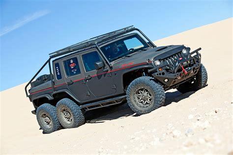Hell Hog Hellcat Powered 2012 Jeep Wrangler Unlimited 6x6