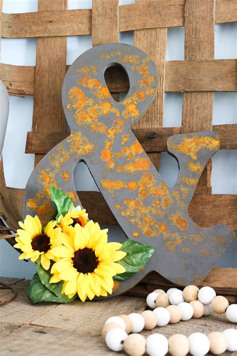 rust effect paint surface any farmhouse rustic finish try links below want project