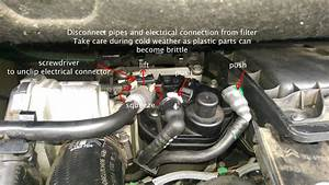 Citroen Berlingo Van Diesel Filter Change 2008 On 1 6hdi