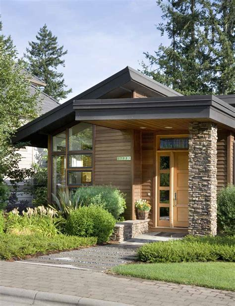 Nice Unique Small Home Plans #11 Small Modern House Plans