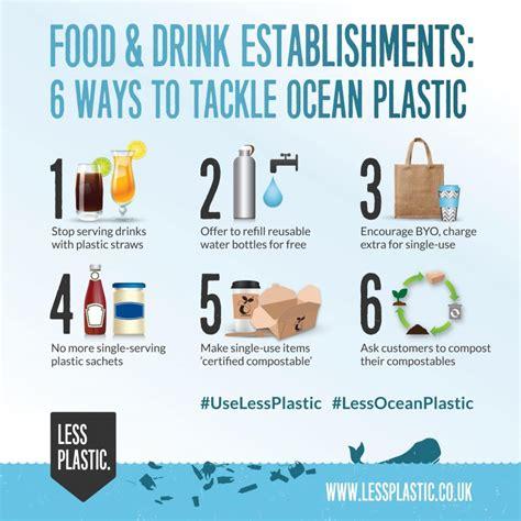 6 Ways For Food & Drink Establishments To Tackle Ocean Plastic  Less Plastic