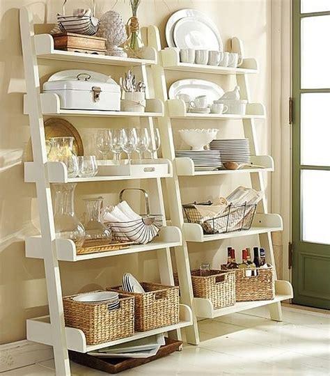 etageres pour cuisine 50 idées d 39 étagère échelle pour un intérieur original