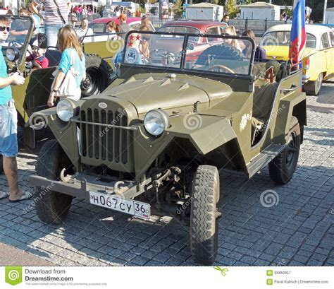 russian jeep ww2 soviet jeep gaz 67 editorial photography image of russia