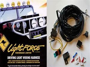 Lightforce - Remote Wiring Loom