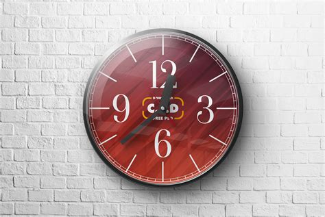 Several customizations can be made with plastic spray bottle mockup. Wall Clock Mockup Free Psd