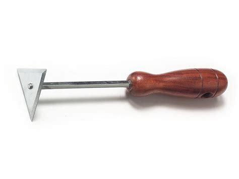 Hardwood Floor Corner Scraper by Triangular Blade Corner Scraper Wood Handle 06655