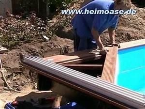 Pool Mit Holz : schwimmbadbau hamburg poolbau mit holz youtube ~ Orissabook.com Haus und Dekorationen