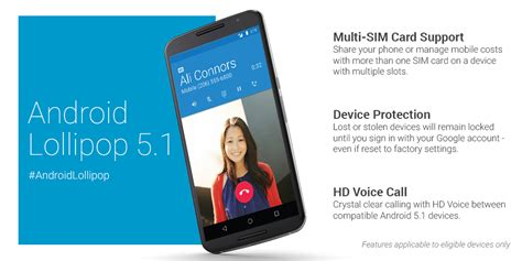 android 5 1 android 5 1 lollipop now rolling out to nexus users