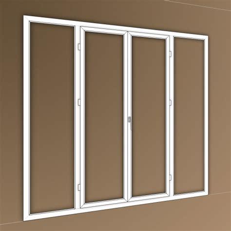 porte fen 234 tre pvc 4 vantaux dont 2 fixes lat 233 raux 1000x1000 portes fenetres pvc sur mesure