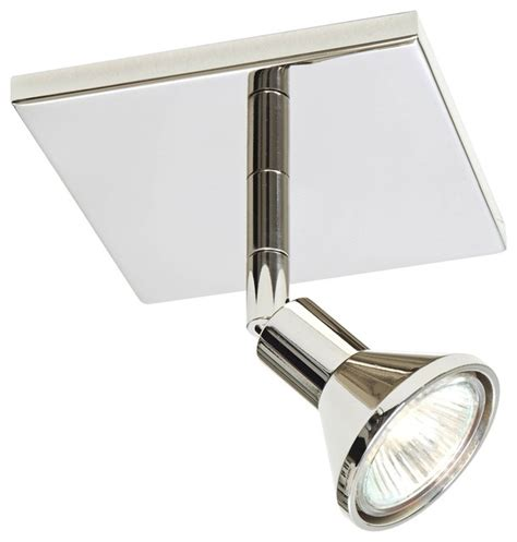 contemporary lichtstar polished chrome square canopy