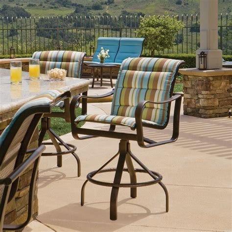 Sling Patio Furniture by Shoreline Padded Sling Sling Patio Furniture Tropitone