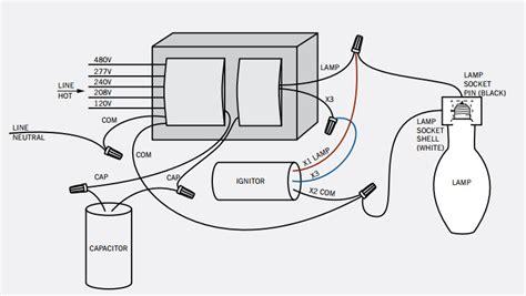 sodium vapor light wiring diagram sodium free engine