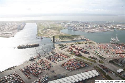 le port du havre port du havre vue a 233 rienne de l 233 cluse fran 231 ois ier le havre patrimonial
