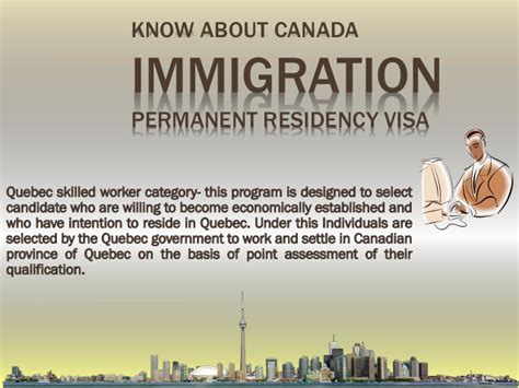 permanent resident form canada canada immigration permanent residency visa