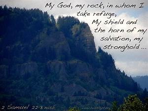 Text Features Powerpoint 2 Samuel 22 3 My Stronghold Heartlight Gallery