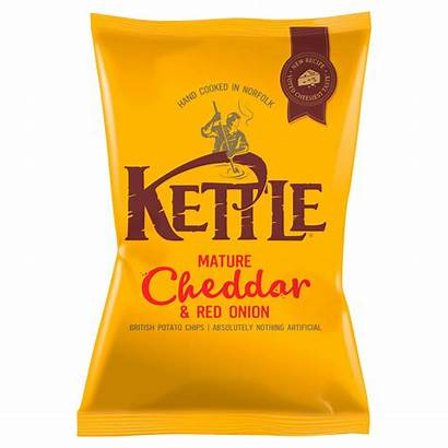 Kettle Chips Cheddar Onion Mature 150g 130g