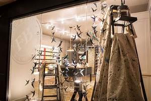 Festive Window Displays by Farrow & Ball for DIFFA