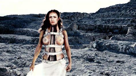 Salma Hayek Nude Tits Scene In Frida Movie Scandal Planet