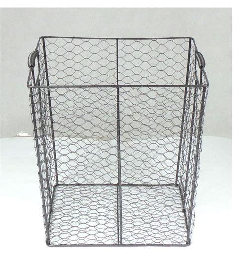 bureau metal gris corbeille à papier de bureau en métal gris
