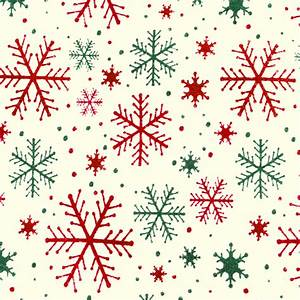 Red & Green Snowflakes Tacky Ugly Christmas Mock ...