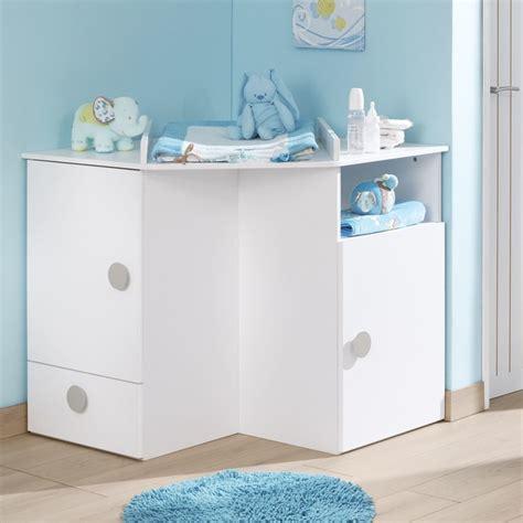 meuble chambre de bébé camille meubles meuble d 39 angle à langer pour enfant