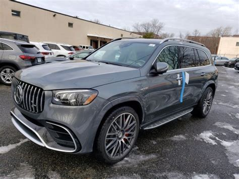 Satisfying a hunger for intense performance, undeniable comfort and dynamic agility comes the latest in advanced sport utility vehicles. New 2021 Mercedes-Benz AMG GLS 63 4MATIC SUV | SEL GREY 21-427