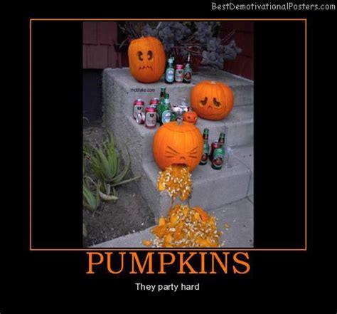Halloween Party Meme - halloween pumpkins demotivational poster
