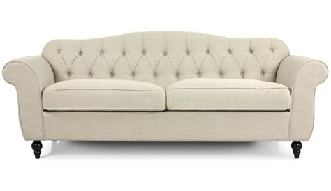 photos canapé chesterfield tissu beige