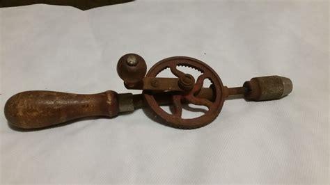 antique hand drill ebay