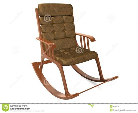 Armchair-rocking Chair Royalty Free Stock Photos