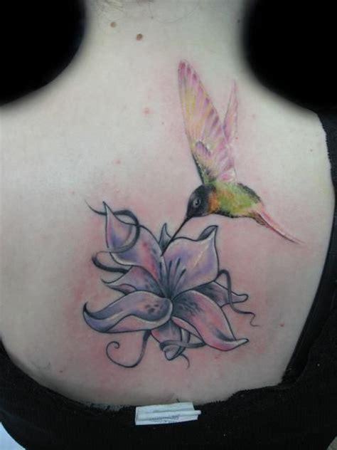 lily  hummingbird tattoo  darek darecki  poland