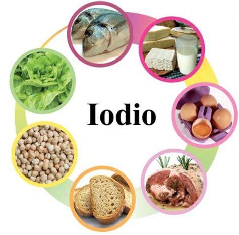alimenti ricchi iodio iodio e salute