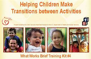Helping Children Make Transitions between Activities ...